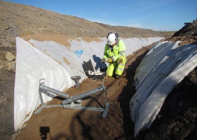 Thermal Resistivty Testing - Caithness to Moray HVDC cable route