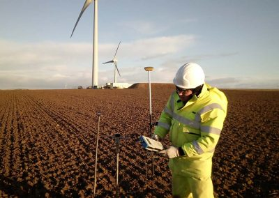 Thermal Resistivity Testing - Caithness to Moray HVDC cable route