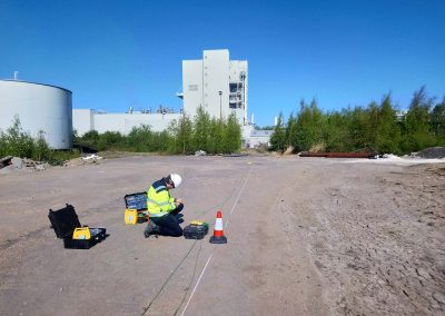 Electrical Resistivity Testing