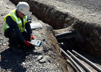 Thermal Resistivity Testing for Cable Installation - Crossaig Substation